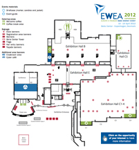 EWEA 2012 exhibition floorplans