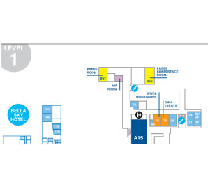 EWEA 2012 exhibition floorplan