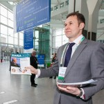 Rex hands out Recharge Dailies at EWEA 2013