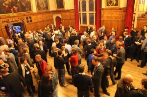 EWEA Noise Workshop Reception, Oxford Town Hall, photo: KT Bruce